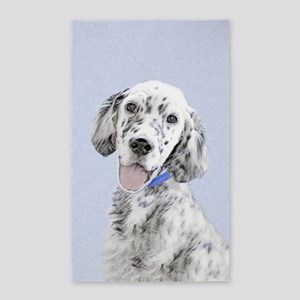 English Setter (Blue Belton) Area Rug