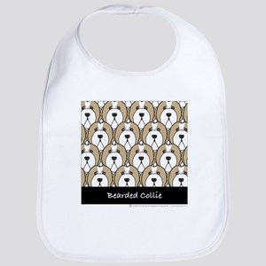 Fawn Bearded Collies Bib