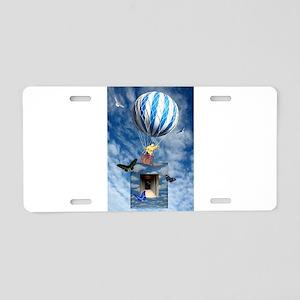 Release Aluminum License Plate