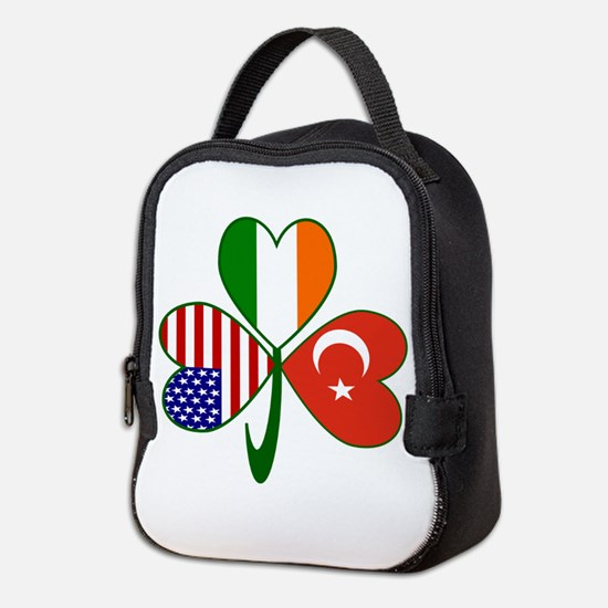 Shamrock of Turkey Neoprene Lunch Bag