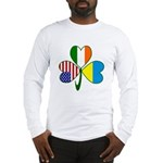 Shamrock of Ukraine Long Sleeve T-Shirt