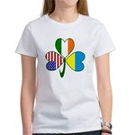 Shamrock of Ukraine Women's T-Shirt