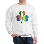 Shamrock of Ukraine Sweatshirt