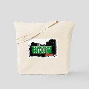SEYMOUR AV, Bronx, NYC  Tote Bag