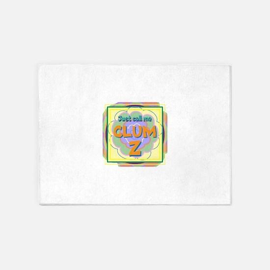 CLUMSY 5'x7'Area Rug