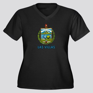 Escudo de Las Villas Women's Plus Size V-Neck Dark