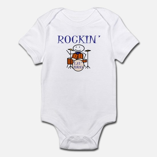 Rocking Little Brother Infant Bodysuit