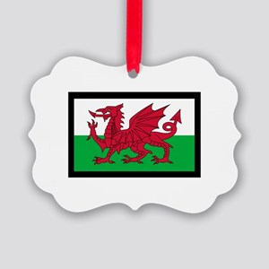 FLAG OF WALES Ornament