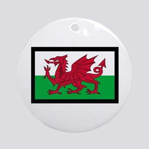 FLAG OF WALES Ornament (Round)