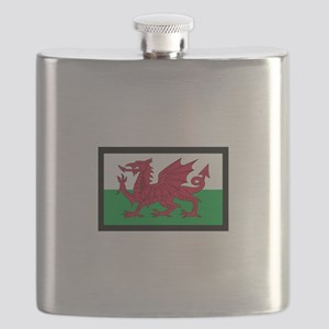 FLAG OF WALES Flask