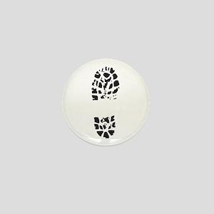 BOOT PRINT Mini Button