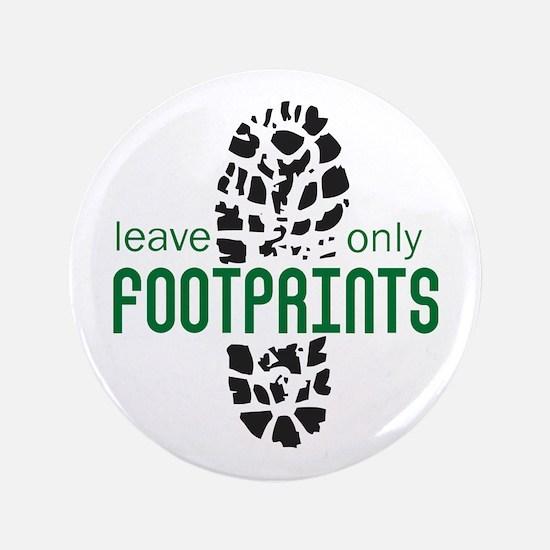 "Foot Prints 3.5"" Button"
