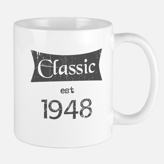 Classic est 1948 Mugs
