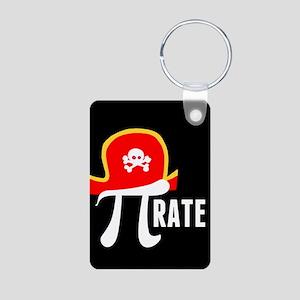 Pi-Rate Aluminum Photo Keychain