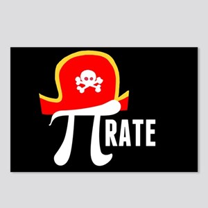 Pi-Rate Postcards (Package of 8)