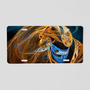 Warrior Queen Aluminum License Plate