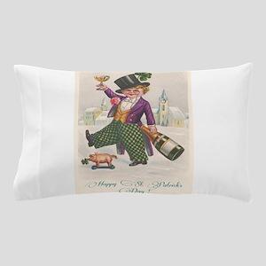 Vintage Happy St. Patrick's Day Pillow Case