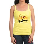 Blondes Have More Fun Jr. Spaghetti Tank