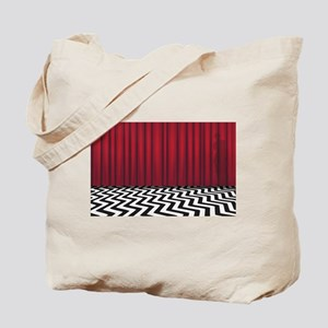 Black Lodge Red Room Tote Bag