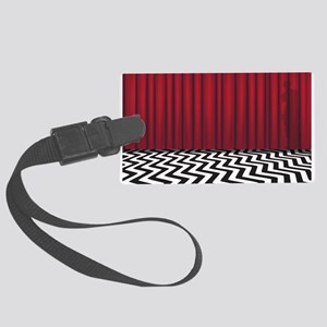 Black Lodge Red Room Large Luggage Tag