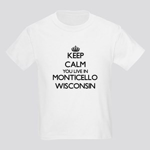 Keep calm you live in Monticello Wisconsin T-Shirt