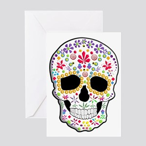 Sugar Skull Greeting Cards