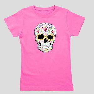 Sugar Skull Girl's Tee