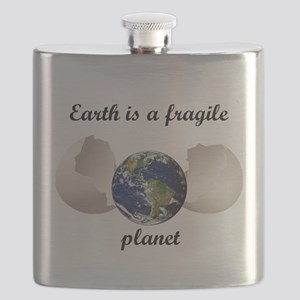 Earth is a fragile planet Flask