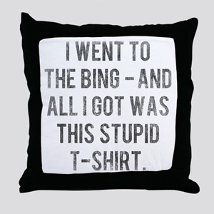 The Sopranos Bada Bing Throw Pillow