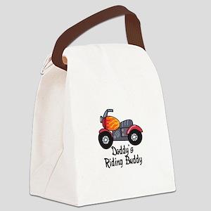 DADDYS RIDING BUDDY Canvas Lunch Bag