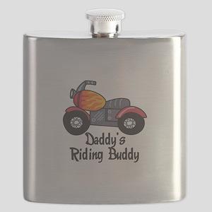 DADDYS RIDING BUDDY Flask