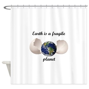 Planets Shower Curtains