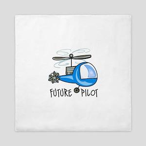 FUTURE PILOT Queen Duvet
