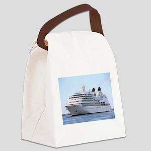 Cruise ship 12 Canvas Lunch Bag