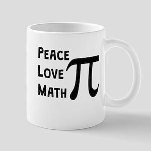 Peace Love Math Mugs