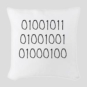 KID 01001011 Woven Throw Pillow