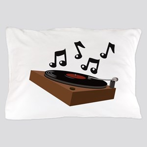 Record Player Pillow Case