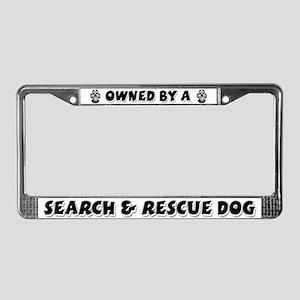 Search & Rescue License Plate Frame