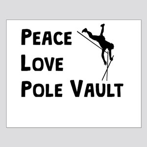 Peace Love Pole Vault Posters