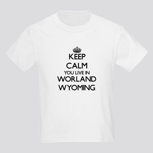 Keep calm you live in Worland Wyoming T-Shirt