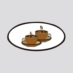 TWO COFFEE CUPS Patch