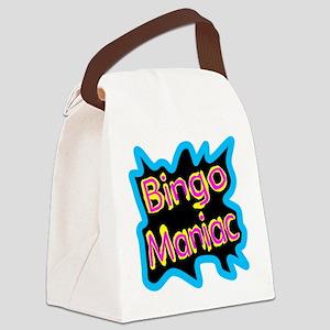 Bingo Maniac Canvas Lunch Bag