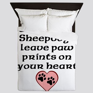 Old English Sheepdogs Leave Paw Prints On Your Hea