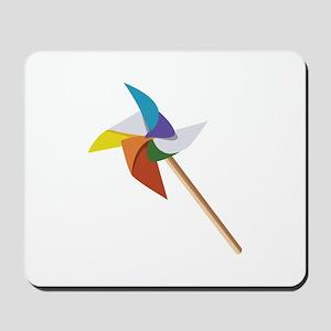 Colorful Pinwheel Mousepad