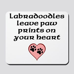 Labradoodles Leave Paw Prints On Your Heart Mousep