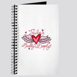 TRULY MADLY DEEPLY Journal