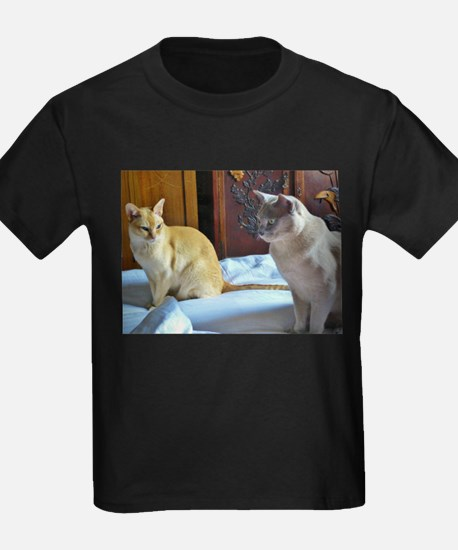 Red and Lilac Burmese Cats T-Shirt
