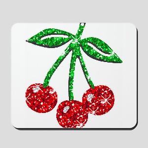 Sparkling Cherries Mousepad