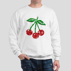 Sparkling Cherries Sweatshirt