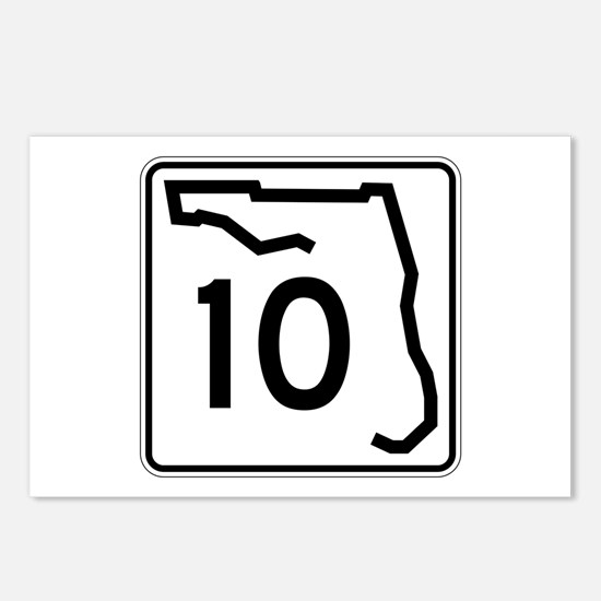 Route 10, Florida Postcards (Package of 8)